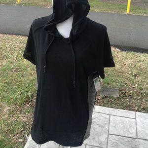 Brand new split co hoodie top.
